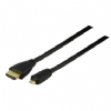 High Speed 3m HDMI to Micro HDMI Lead - HDMI A - HDMI D